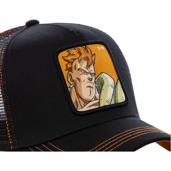 capslab-android-c-16-c16b-dragon-ball-black-trucker-hat