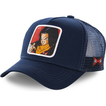 Capslab Android C-17 C17A Dragon Ball Navy Blue Trucker Hat