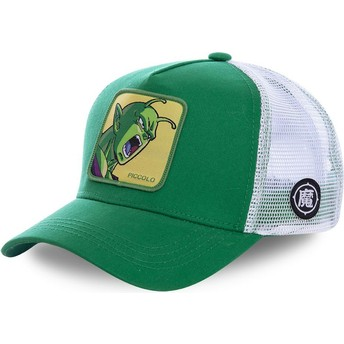 Capslab Piccolo PIC1 Dragon Ball Green and White Trucker Hat