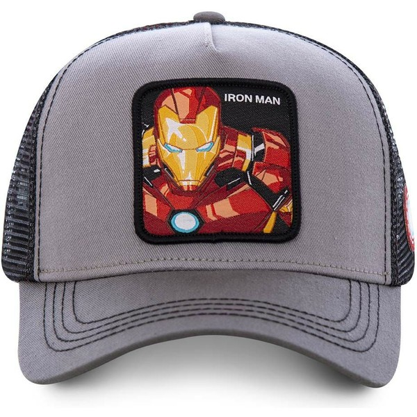 capslab-iron-man-iro3-marvel-comics-grey-trucker-hat
