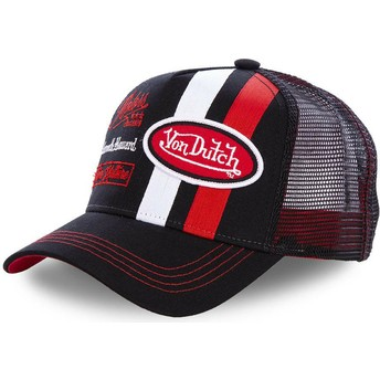 Von Dutch MCQBLA Black Trucker Hat