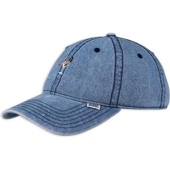 Gorra curva azul vaquero ajustable Coloured Girl de Djinns