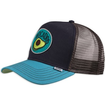 Djinns Food Avocado Navy Blue Trucker Hat