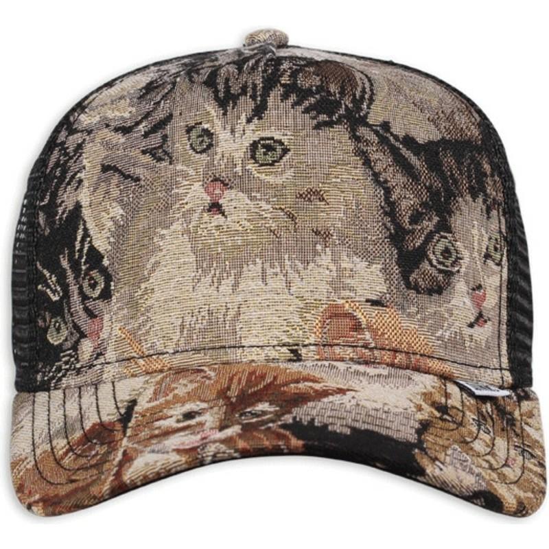 28acf90b9c8 Djinns We Love Ugly Cat2 Multicolor Trucker Hat: Shop Online at ...