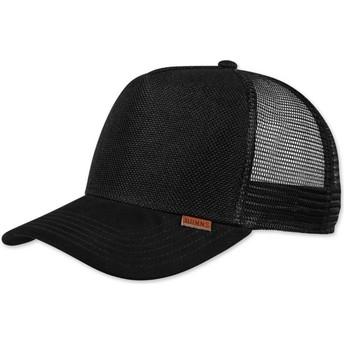 Djinns Suelin Black Trucker Hat