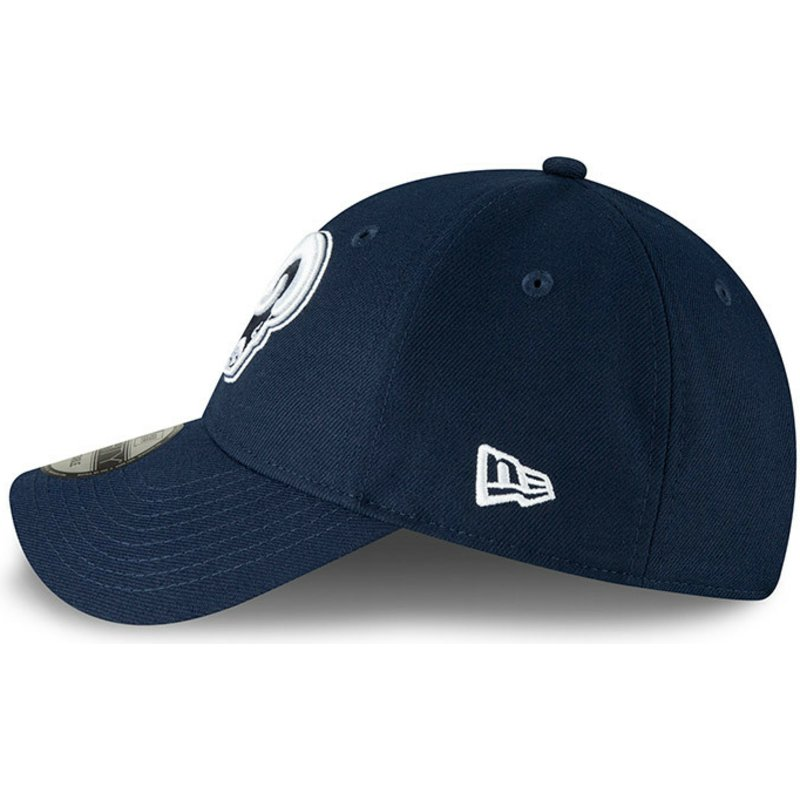 affc19e313faea New Era Curved Brim 9FORTY The League Los Angeles Rams NFL Blue ...