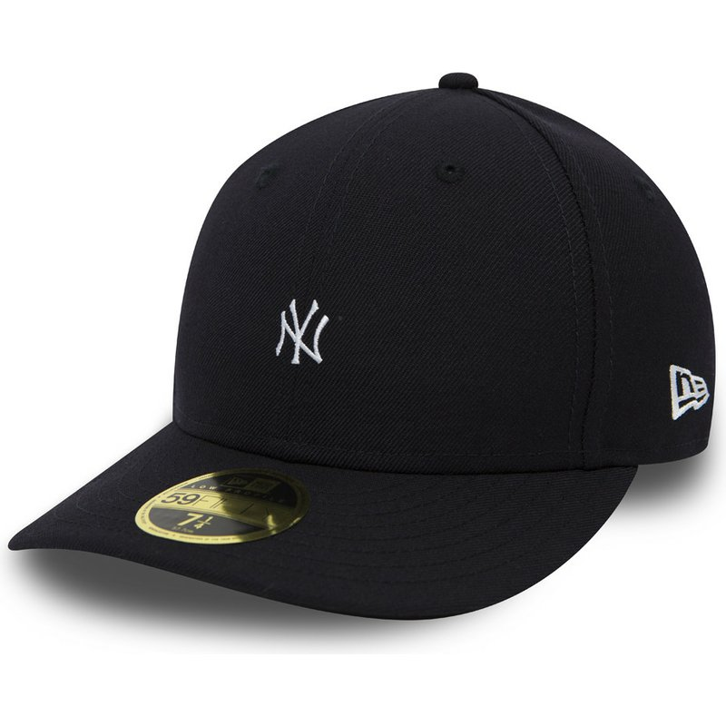 246f985d6d4 New Era Flat Brim 59FIFTY Low Profile Mini Logo New York Yankees MLB ...