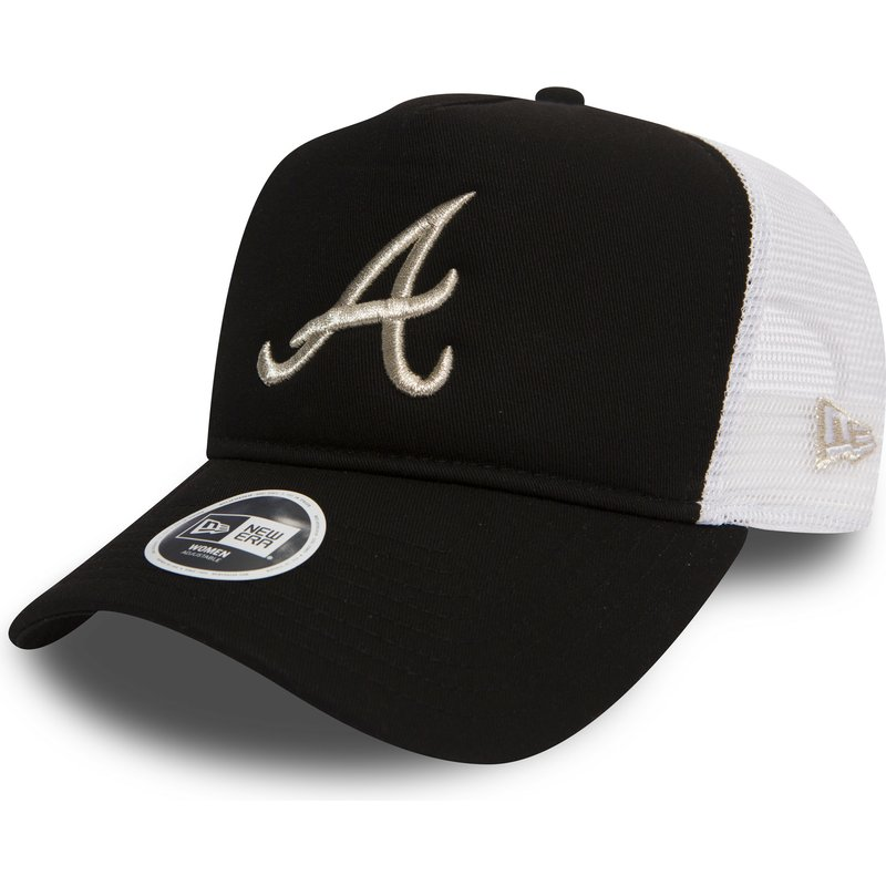 new-era-9forty-essential-atlanta-braves-mlb-black-trucker-hat