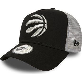 New Era 9FORTY Team Toronto Raptors NBA Black Trucker Hat