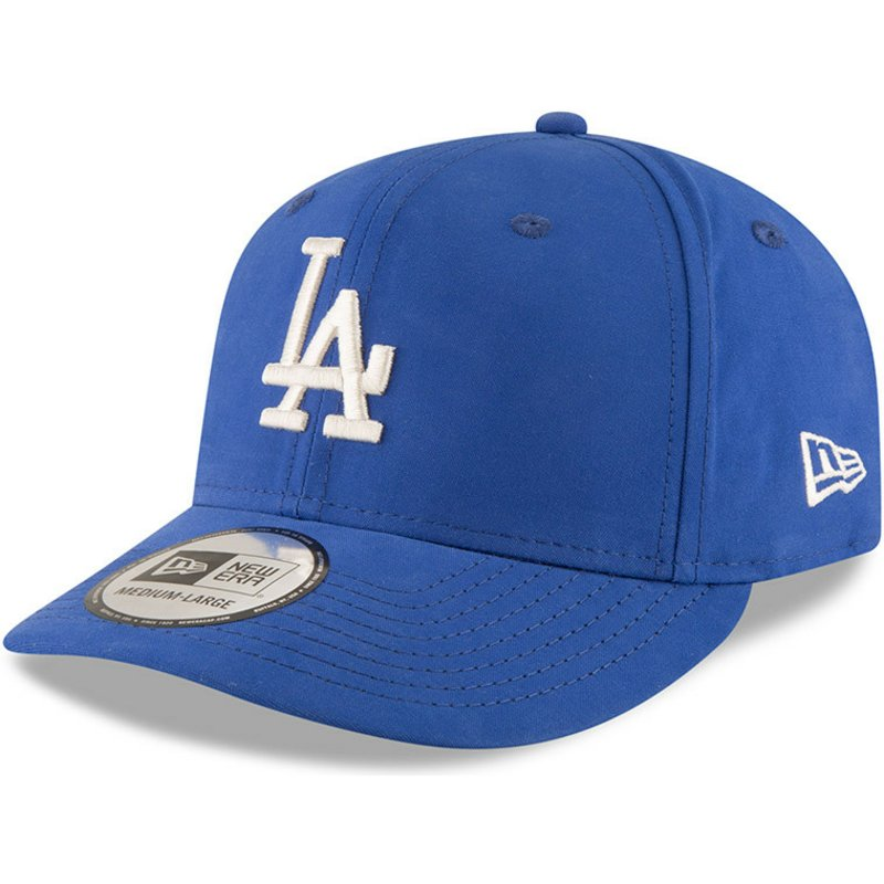 409875eec33 New Era Curved Brim 9FIFTY Nylon Pre Curved Fit Los Angeles Dodgers ...