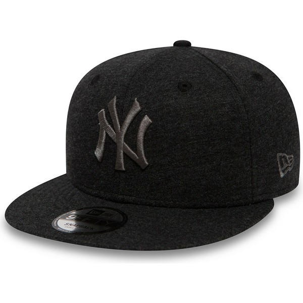 new-era-flat-brim-grey-logo-9fifty-essential-jersey-new-york-yankees-mlb-grey-snapback-cap