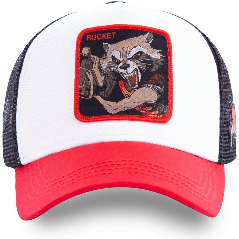 Capslab Rocket Raccoon Trucker Cap Marvel Collab