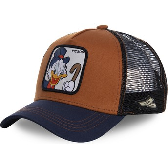 Gorra trucker marrón y azul marino Tío Gilito SCR1 Disney de Capslab