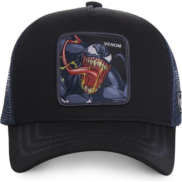 capslab-venom-ven1-marvel-comics-black-trucker-hat