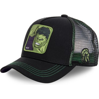Capslab Hulk HLK2 Marvel Comics Black Trucker Hat