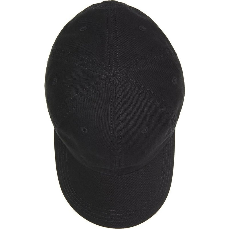 5a1b7cf161 Lacoste Curved Brim Basic Side Crocodile Black Adjustable Cap: Shop ...