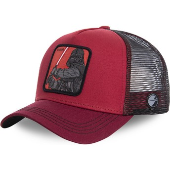 Capslab Darth Vader VAD Star Wars Red Trucker Hat