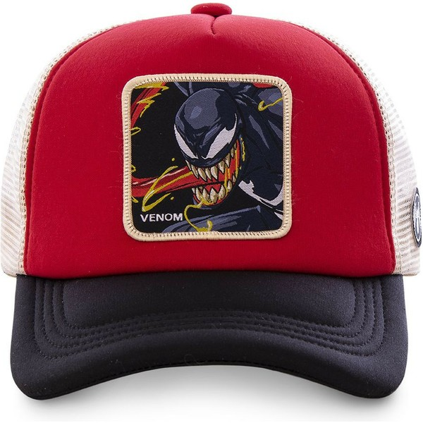 capslab-venom-ven4m-marvel-comics-red-white-and-black-trucker-hat