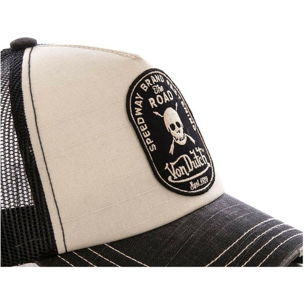 von-dutch-crew7-grey-and-black-trucker-hat