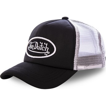 Von Dutch FAO BLA Black and White Trucker Hat