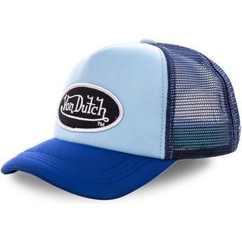 Von Dutch FAO BLU Blue Trucker Hat