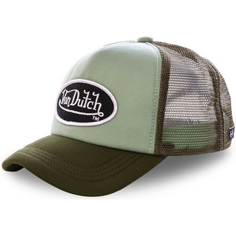 Von Dutch FAO KAK Green Trucker Hat