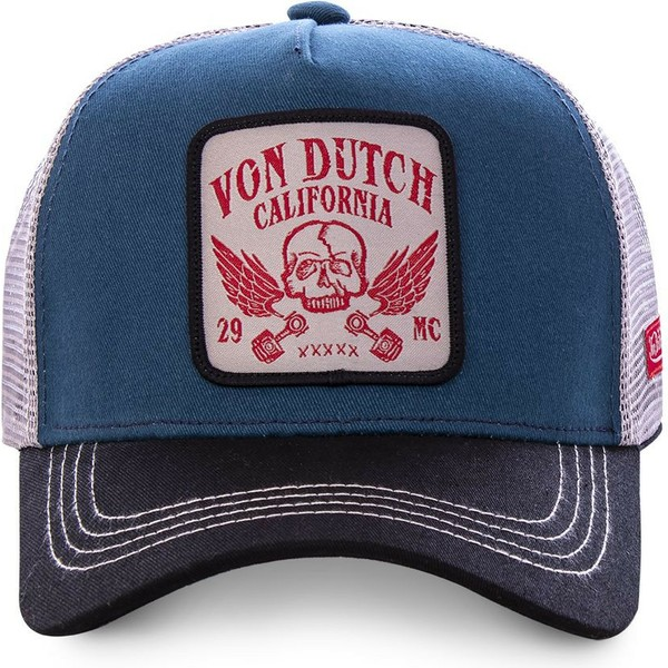 von-dutch-grn1-blue-white-and-black-trucker-hat