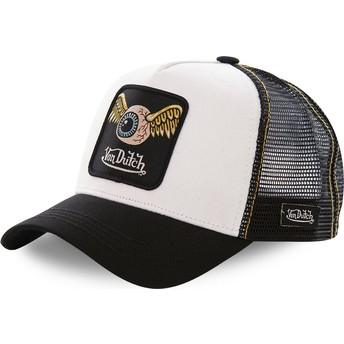Von Dutch GRN2 White and Black Trucker Hat