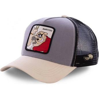 Capslab Beagle Boys BEA2 Disney Brown Trucker Hat