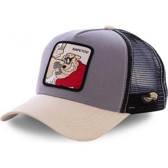 Gorra trucker marrón Beagle Boys BEA2 Disney de Capslab