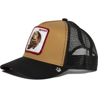 Goorin Bros. Two Beavers Brown and Black Trucker Hat