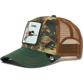 Goorin Bros. Duck Duck Green and Brown Trucker Hat
