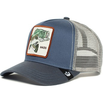 Goorin Bros. Fish Big Bass Blue Trucker Hat