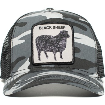 8d669aeaffc9e Goorin Bros. Black Sheep Black Trucker Hat  Shop Online at Caphunters