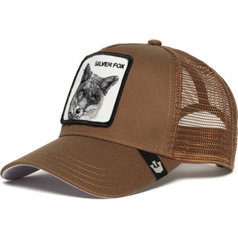 Goorin Bros. Silver Fox Brown Trucker Hat