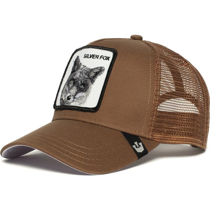 bb9d3f37 Goorin Bros. Silver Fox Brown Trucker Hat: Shop Online at Caphunters