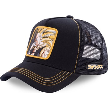 Capslab Gotenks Super Saiyan 3 GOT3 Dragon Ball Black Trucker Hat