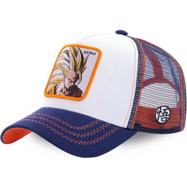 capslab-son-goku-super-saiyan-3-san2-dragon-ball-white-blue-and-orange-trucker-hat