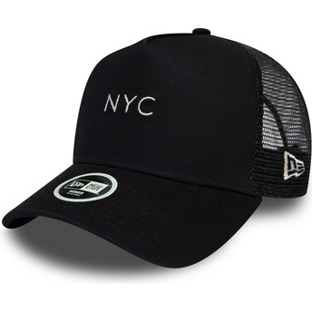 New Era 9FORTY Seasonal NYC Navy Blue Trucker Hat