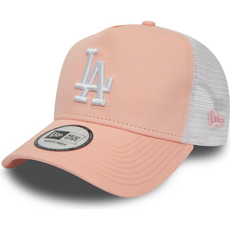 24137c319a3cc New Era League Essential A Frame Los Angeles Dodgers MLB Pink ...
