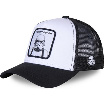 Capslab Stormtrooper BC Star Wars White and Black Trucker Hat