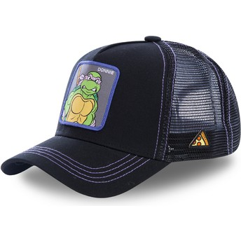 Gorra trucker negra Donatello DON Tortugas Ninja de Capslab