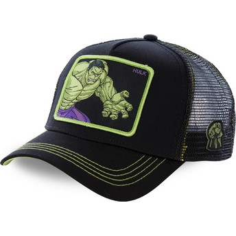 Capslab Hulk HLK5 Marvel Comics Black Trucker Hat
