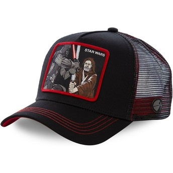 Capslab Darth Vader Vs Obi-Wan LTD2 Star Wars Black Trucker Hat