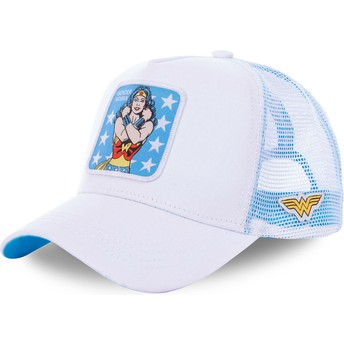 Capslab Wonder Woman WON1 DC Comics White Trucker Hat