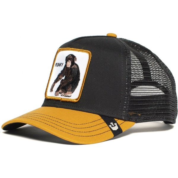 goorin-bros-monkey-banana-shake-black-and-yellow-trucker-hat