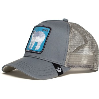 Goorin Bros. Polar Bear Bearrr Grey Trucker Hat