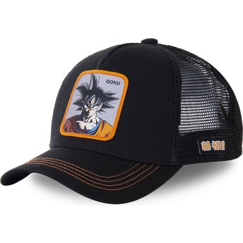 Capslab Son Goku GOKD Dragon Ball Black Trucker Hat