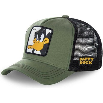 Capslab Daffy Duck DAF2 Looney Tunes Green Trucker Hat