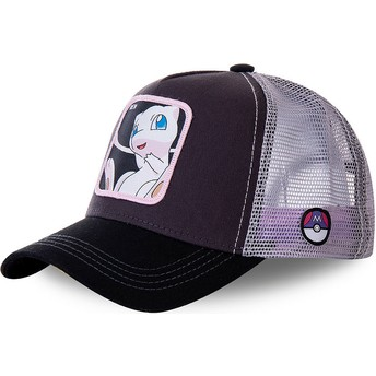Capslab Mew MEW3 Pokémon Black and White Trucker Hat